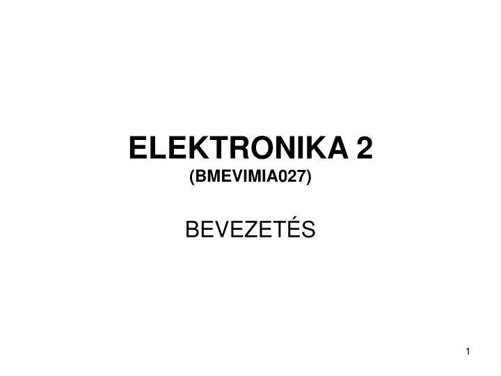 Elektronika 2 bmevimia027