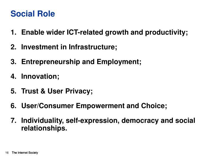 Social Role