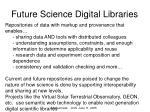 future science digital libraries