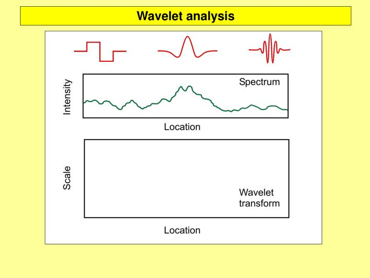 Wavelet analysis