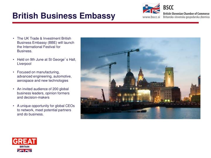 British business embassy