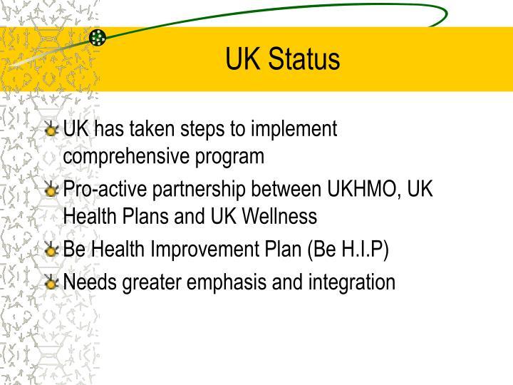 UK Status