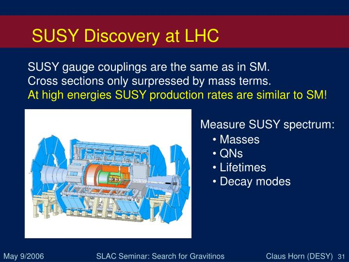 SUSY Discovery at LHC
