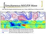 simultaneous mjo er wave5