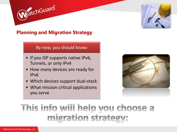 Planning and Migration Strategy