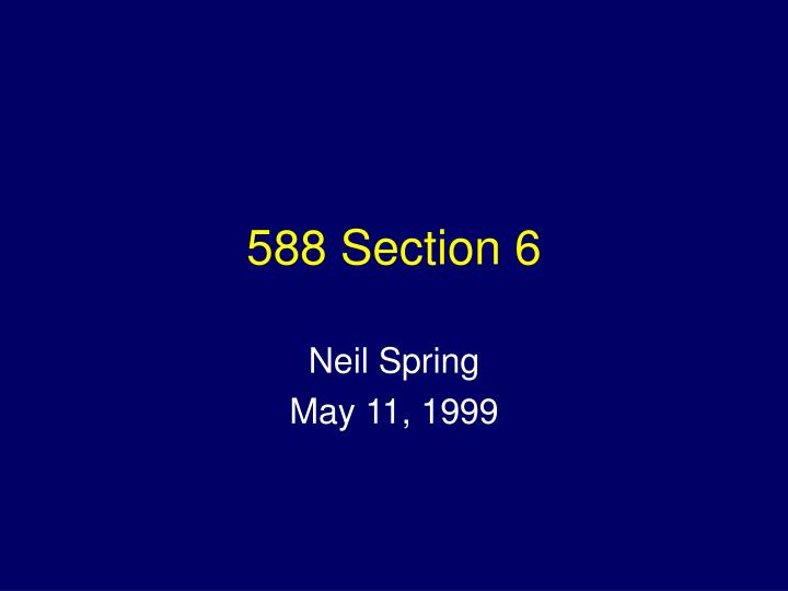 588 section 6 n.