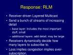 response rlm