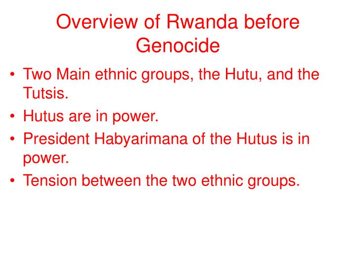 the conflict between the tutsis and the hutus Hutus and tutsis hutus and tutsis are tribes that live in rwanda, africa the history of these two tribes is rather complicated which is why it led to many conflicts between the two tribes throughout the years.