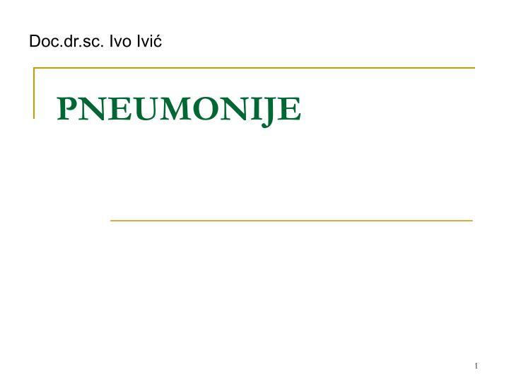 pneumonije n.