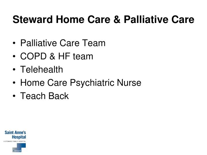Steward Home Care & Palliative Care