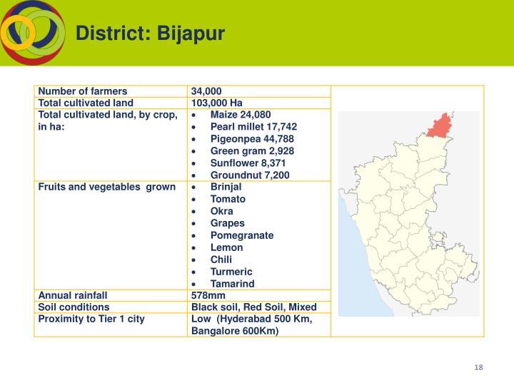 District: Bijapur