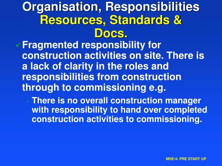 Organisation,