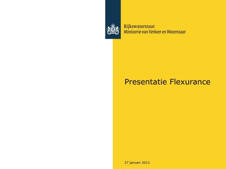 Presentatie flexurance
