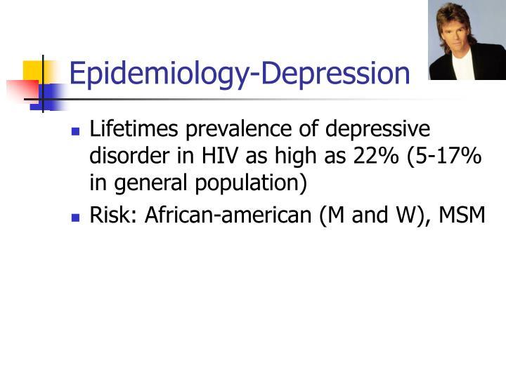 Epidemiology-Depression
