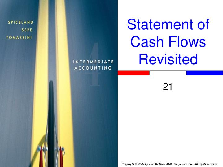 statement of cash flows revisited n.
