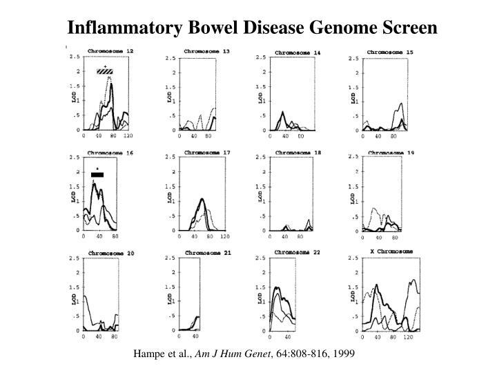 Inflammatory Bowel Disease Genome Screen