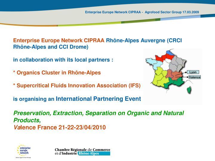 Enterprise Europe Network CIPRAA