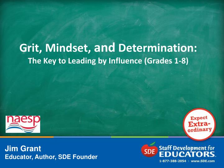 grit mindset and determination the key to leading by influence grades 1 8 n.
