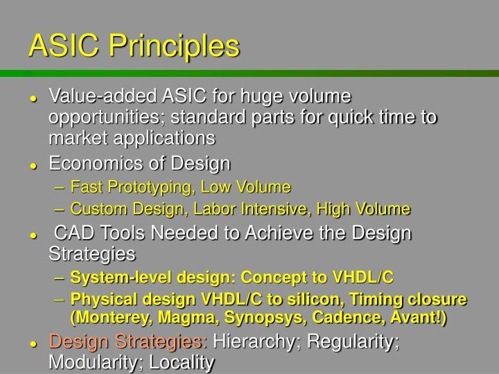 ASIC Principles