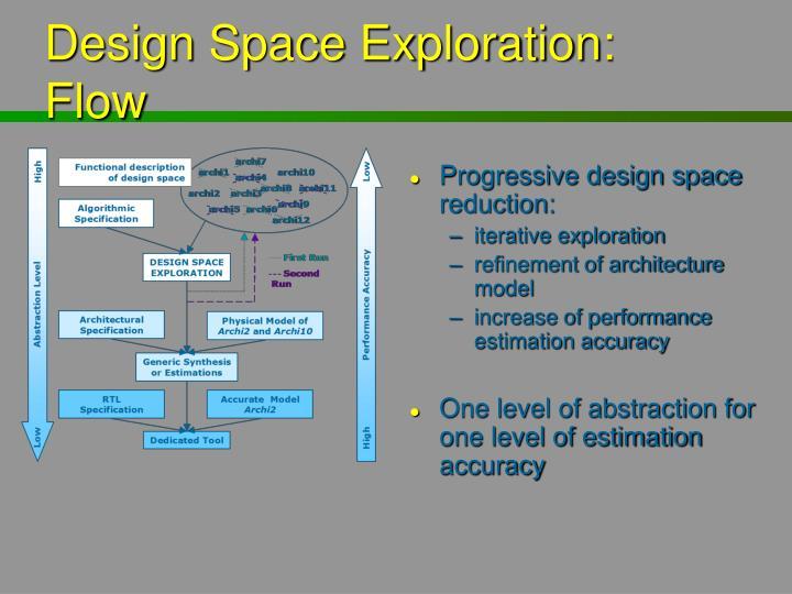 Design Space Exploration: Flow