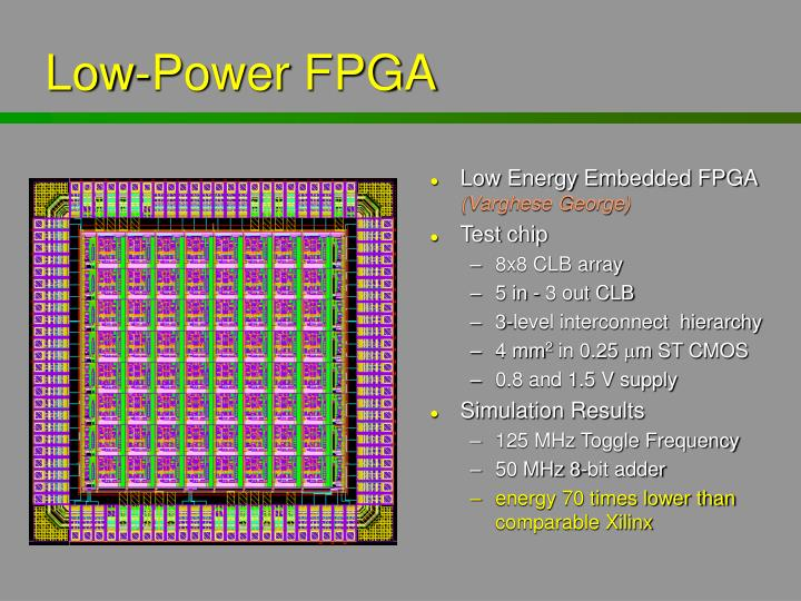 Low-Power FPGA