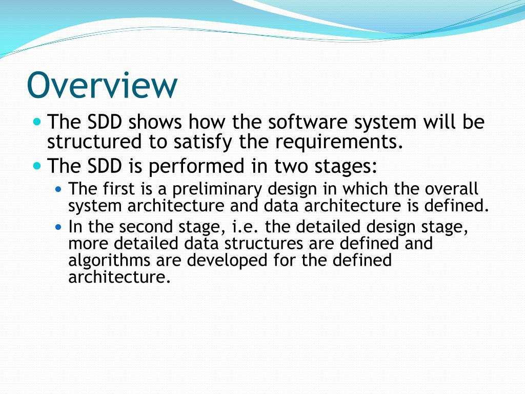 Ppt Software Design Document Sdd Powerpoint Presentation Free Download Id 3370529