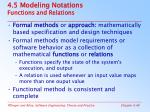 4 5 modeling notations functions and relations