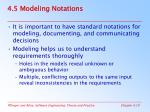 4 5 modeling notations