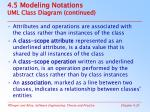 4 5 modeling notations uml class diagram continued