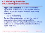 4 5 modeling notations uml class diagram continued1