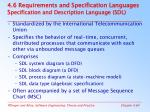 4 6 requirements and specification languages s pecification and description language sdl