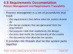 4 8 requirements documentation process management and requirements traceability