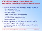 4 8 requirements documentation requirements specification steps documenting process
