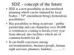 sdz concept of the future