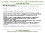 miasta cz onkowskie zmp wobec zada pomocy spo ecznej w latach 1999 200814
