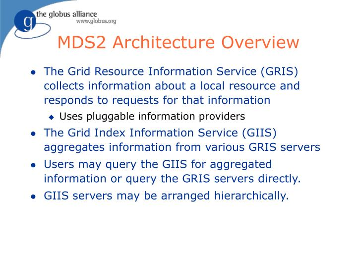 MDS2 Architecture Overview