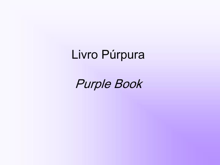 Livro Púrpura