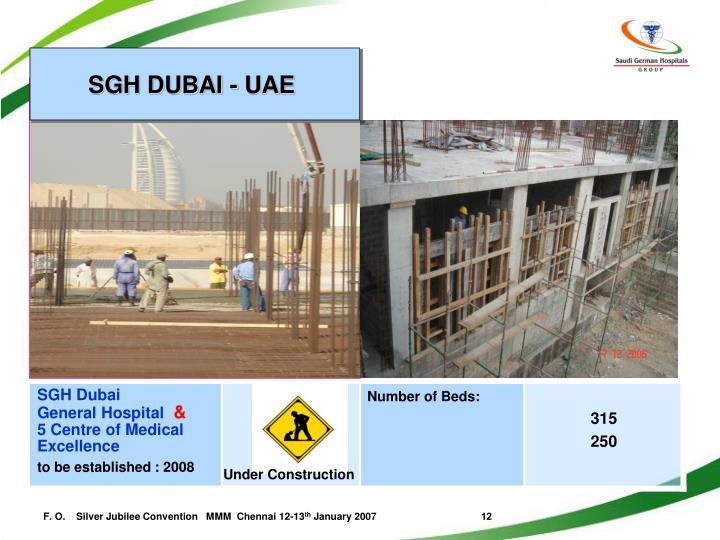 SGH DUBAI - UAE