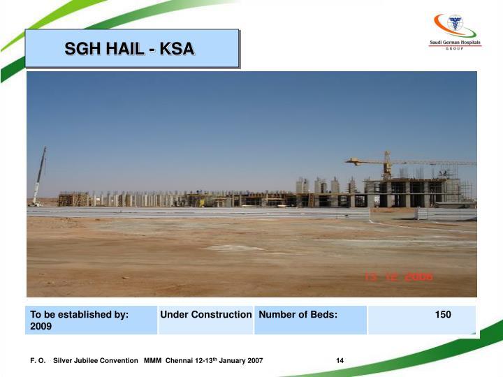SGH HAIL - KSA