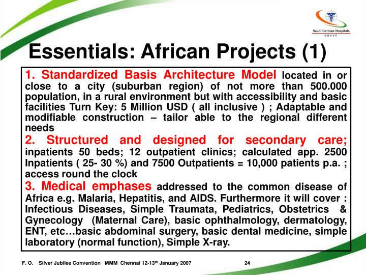 Essentials: African Projects (1)