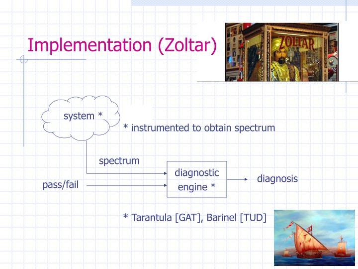 Implementation (Zoltar)