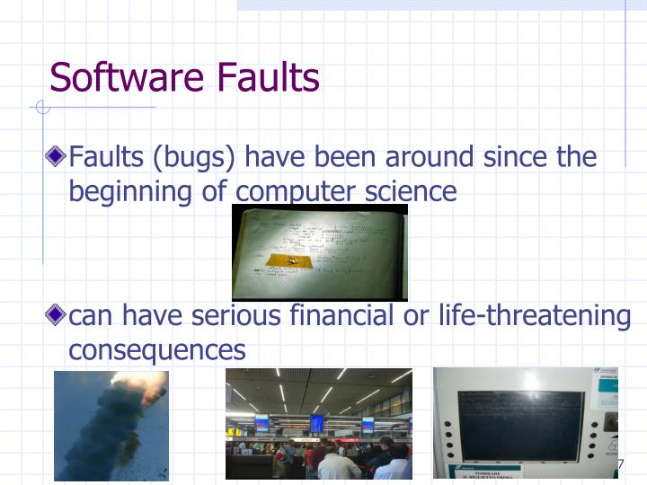 Software Faults