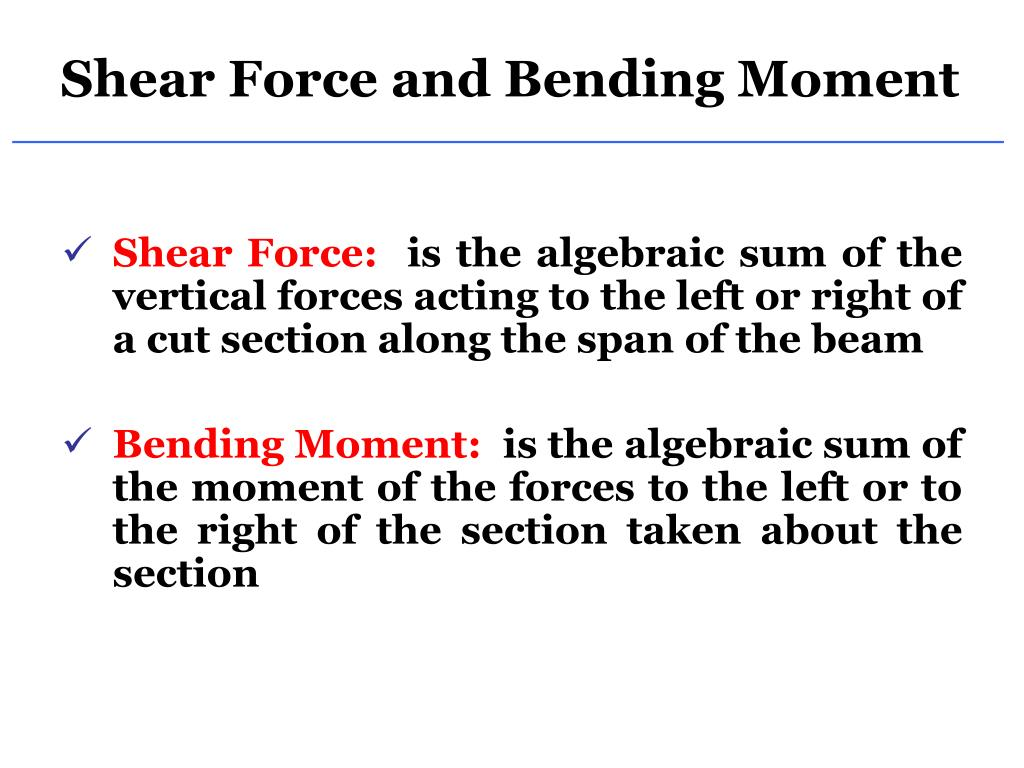 Ppt Shear Force And Bending Moment Powerpoint Presentation Id Free Body Diagram Sfd Bmd N