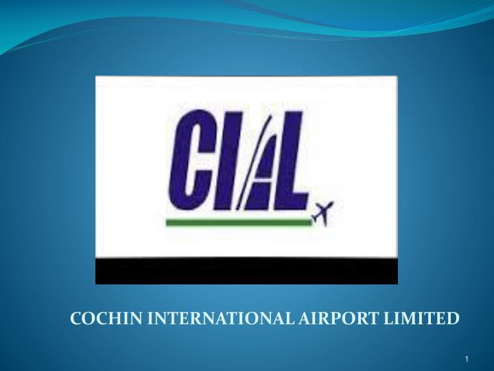 cochin international airport limited n.