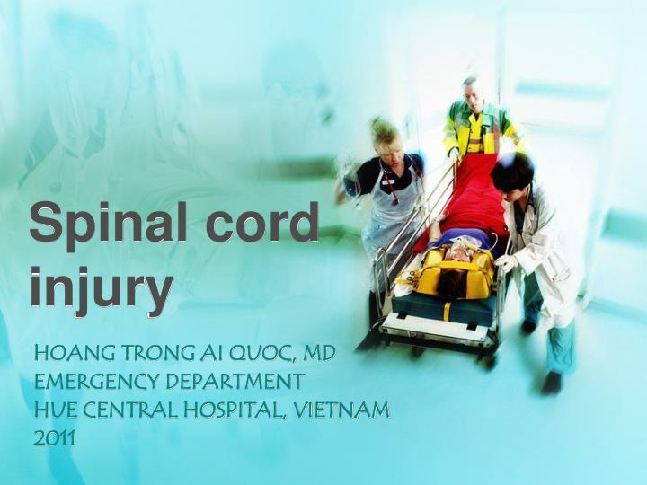 spinal cord injury n.