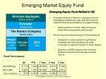 emerging market equity fund