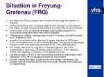 situation in freyung grafenau frg