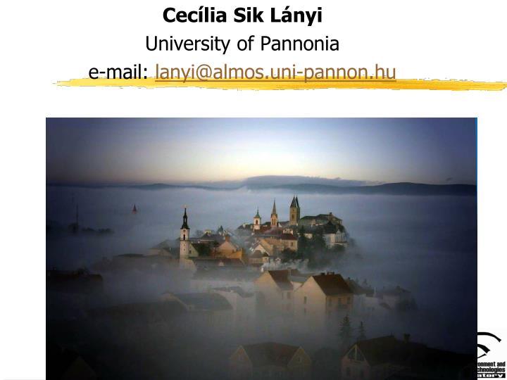 Cecília Sik Lányi