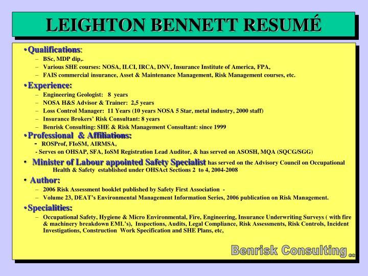 leighton bennett resum n.
