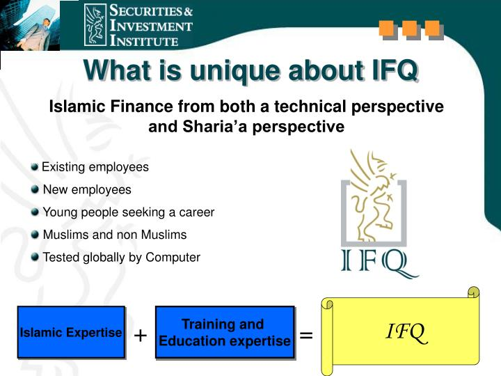 What is unique about IFQ